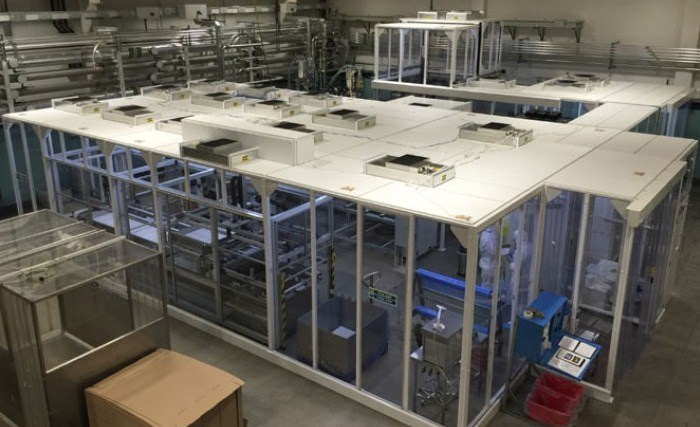 Hardwall Cleanroom with HEPA-lite™ Frame for Injection