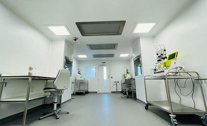 GMP cleanroom