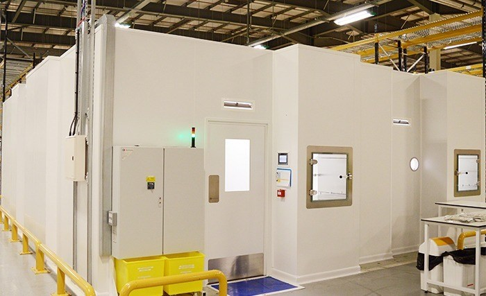 Cleanroom construction project with GMP qualification