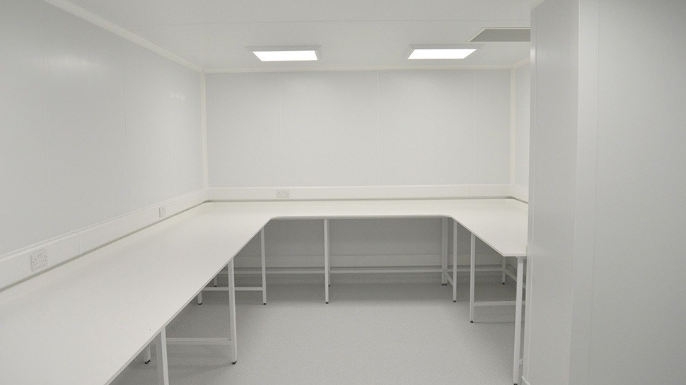 Offsite Cleanroom Construction