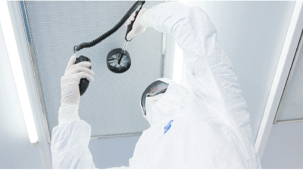 GMP Cleanroom Qualification