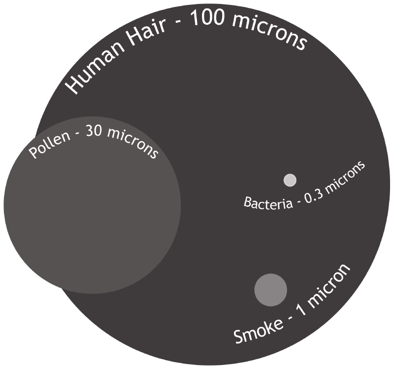 How big is a micron