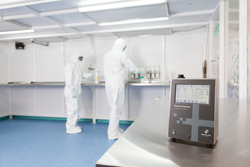 Particle Counter In Cleanroom
