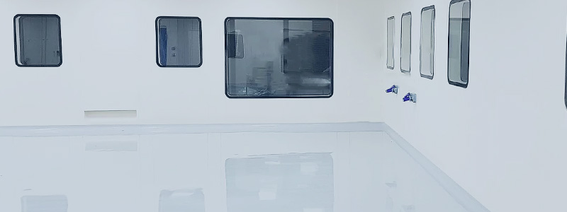 GRP Cleanroom Wall and Ceiling Systems