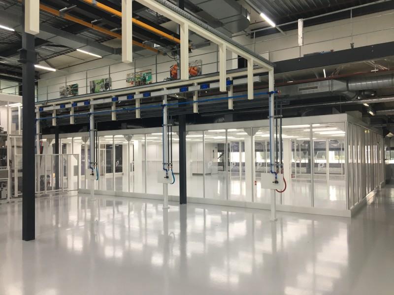 Hardwall Modular Cleanroom