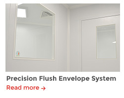 Precision flush envelope