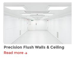 Precision walls ceiling