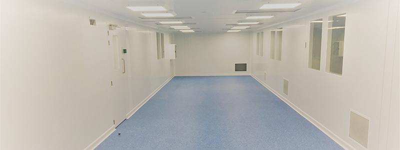C2C Semi-Flush Monobloc Panel System Cleanroom - Kingspan Versatile