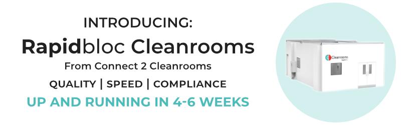 Rapidbloc Cleanrooms banner