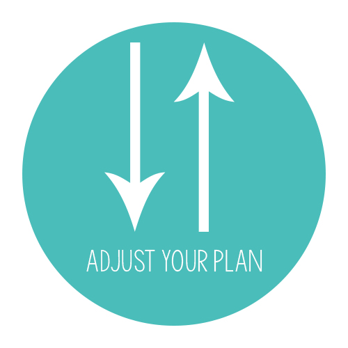 Adjust your plan