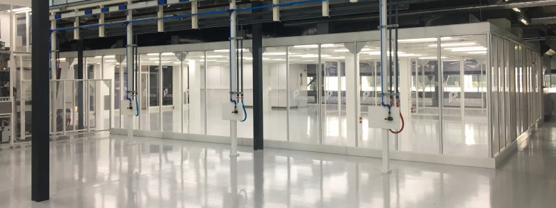 Hardwall Modular Clean Room